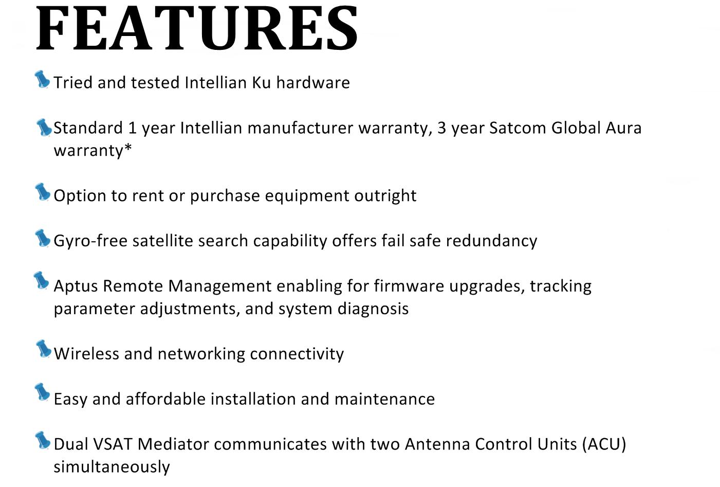 features intellianV60