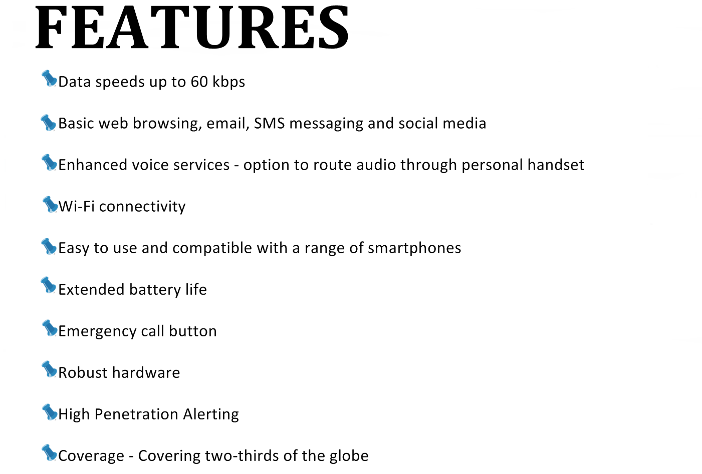 features thuraya satsleeve